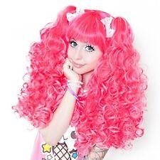 Gothic Lolita Wigs® Baby Dollight Hot Pink Atomic Love Affair Ponytail Wig