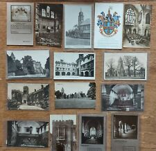 More details for collection of fifteen old postcards of rugby school