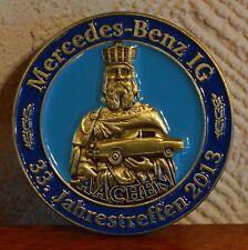 MBIG Mercedes Benz Daimler Pin Anstecker Jahrestreffen Aachen 2013