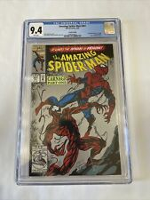 Amazing Spider-Man #361 CGC 9.4 Second Printing First Carnage App 2nd Print NM