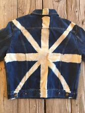 Women's Energie Denim Jacket Large Union Jack