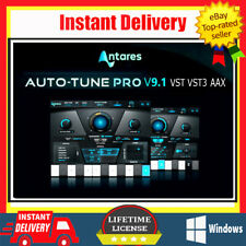 Antares Auto-Tune Pro Bundle v9.1✔️Latest Version🔑100% license Work✔️4 Any DAW