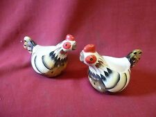 Pair of Rocking Rooster by Gallo Chicken Egg Cups
