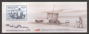 Greenland Sc#462a Admiral Robert Peary, Arctic Explorer S/S of 1, 2005, MNH