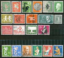 Bundespost jaargang 1958 gebruikt (1)