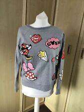 Disney grey round neck sweatshirt - size 12