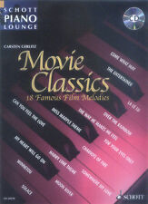Schott Piano Lounge Movie Classics 1 Klavier Noten mit CD Carsten Gerlitz