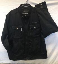 Authentic SEAN JOHN Black Hipster Multi-pocket Jacket XXL