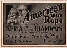 1927 A AD  AMERICAN WIRE ROPE AERIAL TRAMWAYS TIGER
