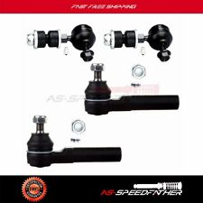 4pc Sway Bar Links Outer Tie Rod Ends Suspension Kit for 93-02 Mercury Villager