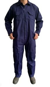 Mens Work Overalls Boilersuit Navy - Warehouse Garages Students workerwear suit