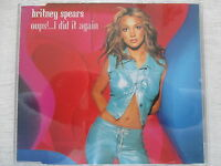 Britney Spears - Oops! I did it again (Album & Instrumental)- 4 Track Maxi CD