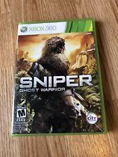 Sniper: Ghost Warrior (Microsoft Xbox 360, 2010) Cib Game Works ES