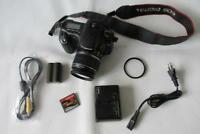 Canon EOS 20D 8.2MP Digital-SLR DSLR Camera +EF-S 18-55mm IS Lens +2GB CF -BLACK
