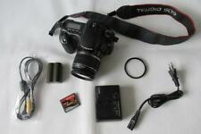 Canon EOS 20D 8.2MP Digital-SLR DSLR appareil photo + EF-S 18-55 mm IS lentille +2 Go CF-Noir