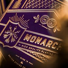 Royal Purple Monarch Playing Cards - Theory 11 Luxury Monarch Deck - Made in USA