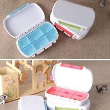 Hot Sale Tablets Case Medicine Box 6 Parts Travel Pill Box Portable Small Kit