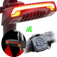 Bike Bicycle 2 Laser Projector Red Lamps Beam & LED Rear Cycling Tail Light Lamp