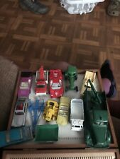 Lot of vintage Matchbox And Other Trucks cars and trucks