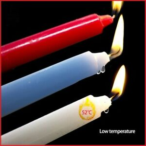 """3Pcs Low Temperature Low Heat Sex Drip Candles Romance Couple Wax Game Night 7"""""""