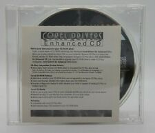 Corel Drivers for Enhanced CD (CD, 1995, CDRM1342330, Pre-owned)