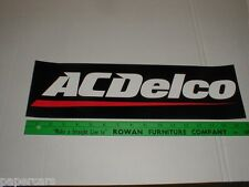 "AC Delco Battery NASCAR Drag Racing 17"" New Sticker Decal black Chevy Chevrolet"