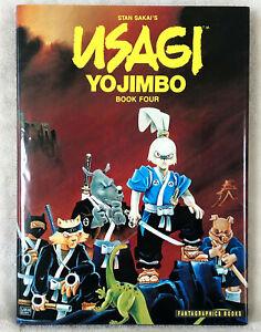 Usagi Yojimbo Book Four High Grade Hardcover HC Signed Numbered with Sketch