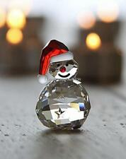 SWAROVSKI CRYSTAL ROCKING SNOWMAN 1005414 MINT BOXED RETIRED RARE