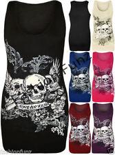 Unbranded Skull Singlepack Tops & Shirts for Women