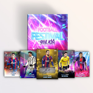 2020-21 Topps Champions League Festival by Steve Aoki Base Parallels **CHOOSE**