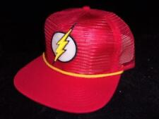 NOS Just Found New Licensed DC Comics Retro FLASH Mesh Trucker Snapback Hat B118