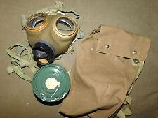Originale unbekannte Gasmaske und Transporttasche, 2.WK ??