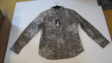 NWT Reyn Spooner Men M Long Sleeve Shirt & Aloha White Tee 2PC Special Buy