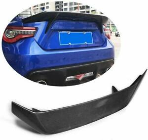 Carbon Fiber Rear Trunk Boot Spoiler Wing For Subaru BRZ FRS Scion GT86 12-19 18