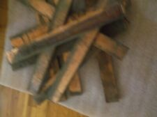 Lot Of Ten(10) Solid Copper Bus Bars Over 15 Pounds Copper