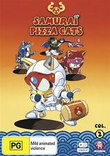 Samurai Pizza Cats Collection 2 (Eps 27-52) NEW R4 DVD