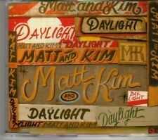 (DE889) Matt & Kim, Daylight - 2009 DJ CD