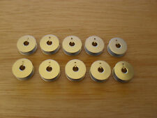 6x Aluminium Bobbins to Suit Industrial PFAFF Straight Sewer P/n 9033a