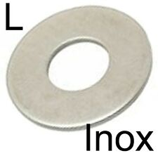 RONDELLE plate L large - INOX A2 - M5 (30)