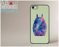 Cute iPhone 5 CASE CUSTOM DESIGN galaxy print totoro