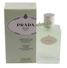 Prada Milano Infusion D'Iris  Perfume 3.4/3.3 oz EDT  Spray Women New In Box