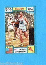 OLYMPIA 1896-1972-PANINI-Figurina ADESIVA !! n.167- WHITFIELD - USA -Rec