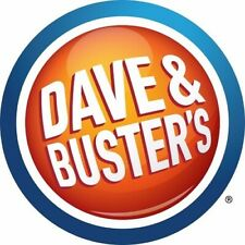 $100.00 DAVE & BUSTER'S AND $5.00 BUFFALO WILD WINGS GIFT CARD - $105.00 VALUE