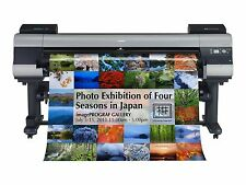 "Canon imagePROGRAF Ipf9400s 60"" Wide-format Printer Canvas Art Photo Graphics"