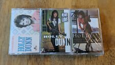 Holly Dunn NEW/SEALED 3 Cassette Lot - Getting It Heart Full of Love Cornerstone