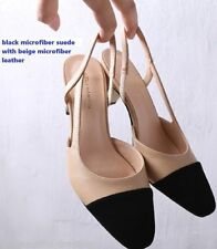 Unbranded Leather Wide (C, D, W) Heels for Women