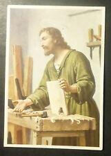 HOLY CARD -  GESU' FALEGNAME