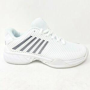 K Swiss Hypercourt Express 2 White Black Womens Tennis Shoes 96613 102