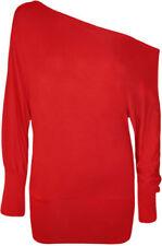 Maglie e camicie da donna rosso Casual Taglia 44