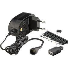 Universal Stecker-Netzteil 3V 4,5V 5V 6V 7,5V 9V 12V 1,5A 18W Netzgerät goobay